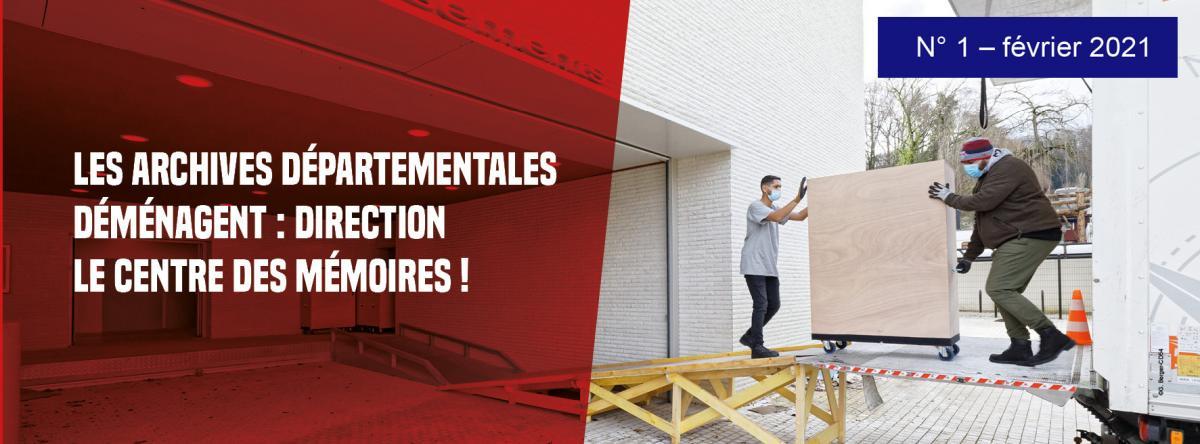 Lettre déménagement n°1, direction le Centre des Mémoires !