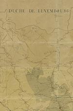 Carte itinéraire de la Généralité de Lorraine et Barrois, divisée en sept départements, dressée par M. Lecreulx, ingénieur en chef des ponts et chaussées, novembre 1786