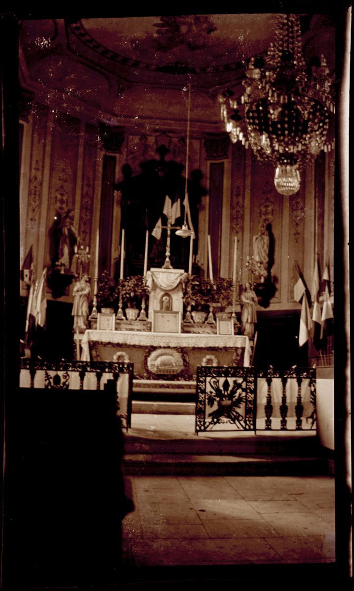 Architecte D Interieur Moselle intérieur d'église en 1914-1918 | archives départementales
